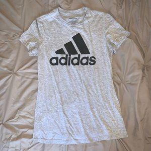 Gray Adidas Tee